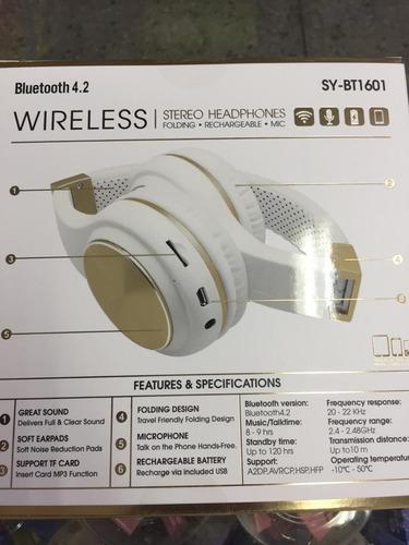 audifonos jbl bluetooth inalambricos  micro sd aux fm