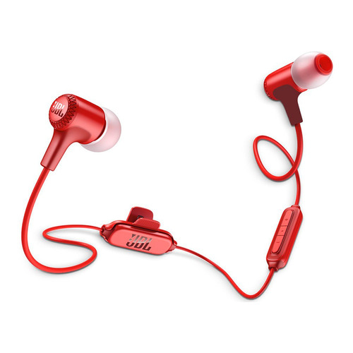 audifonos jbl e25bt in-ear rojo bluetooth