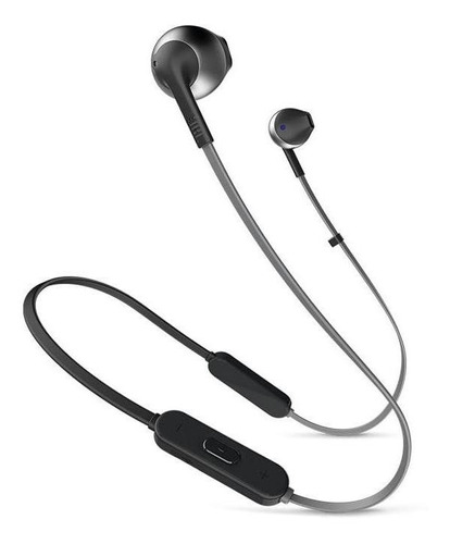 audífonos jbl t205 bluetooth in-ear negro