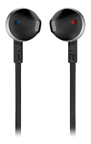 audífonos jbl t205 bluetooth in-ear negro