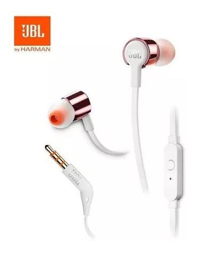 audifonos jbl t210 oro rosa