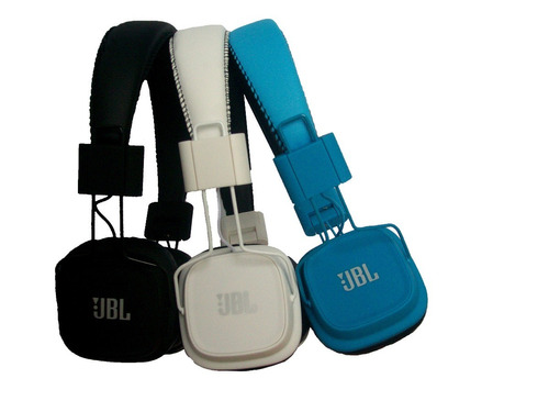 audífonos jbl tempo inalámbricos microsd mp3 fm bluetoot mdj