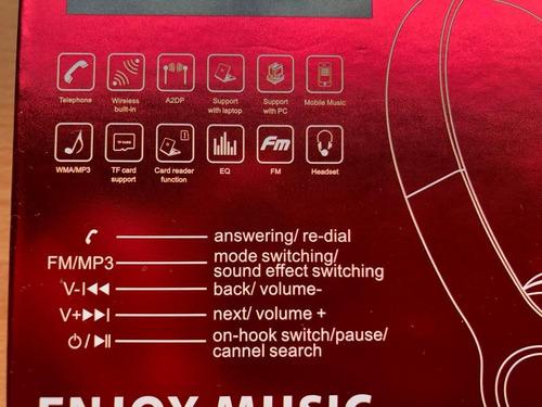 audifonos jbl v32 wireless bluetooth manoslibres mp3 plug c1
