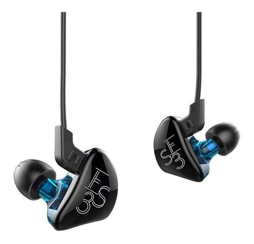audifonos kz es3 dinamicos con microfono monitor personal