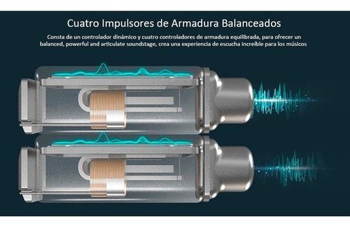 audifonos kz zs10 10 driver originales con micro + estuche