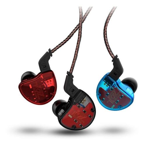 audifonos kz zs10 originales con micrófono + cable plata