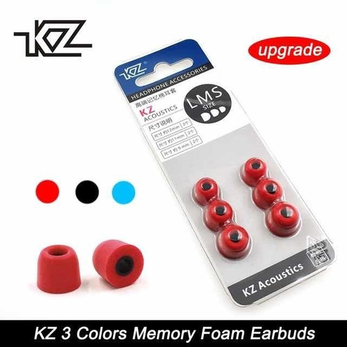 audifonos kz zs10 pro + espumas x 3+ estuche ana