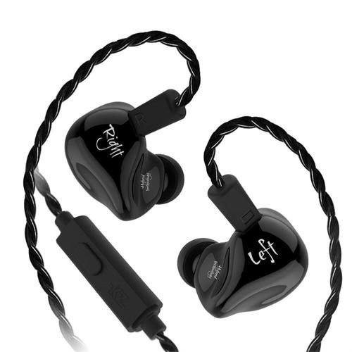 audífonos kz zs4 original híbridos hifi dual driver gamers