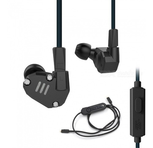 audífonos kz zs6 originales 8 drivers + módulo bluetooth