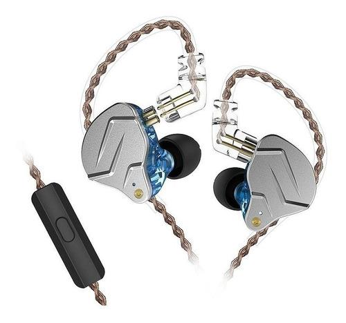 audifonos kz zsn pro 4 drivers p/ musicos hibridos + estuche