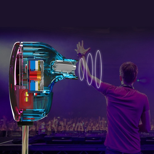 audífonos kz zst pro  hifi  in-ear dual driver original