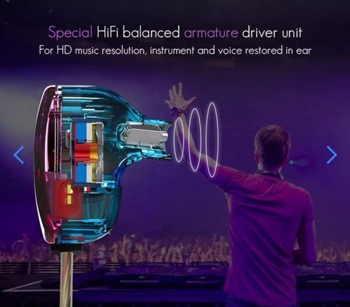 audifonos kz zst pro monitores in-ear originales + estuche