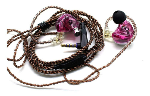 audífonos kz zsx terminator alta fidelidad con microfono 12d