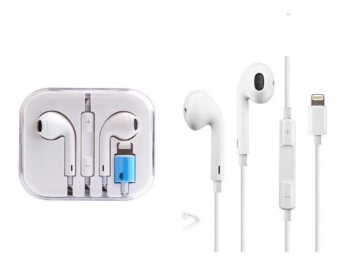 audífonos lighting bluetooth compatible iphone 7/ 8/ plus x