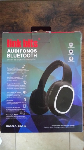 audifonos link bits, bluetooth