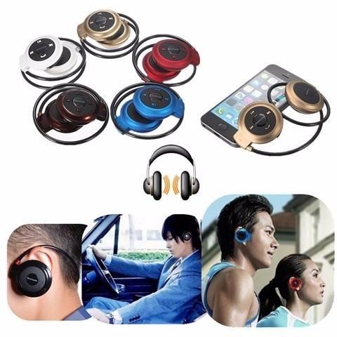 audifonos manos libres bluetooth deportivos ranura microsd