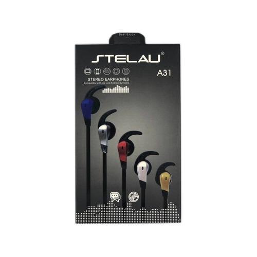 audifonos manos libres deportivos stelau a31 3.5mm /e