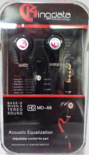 audifonos manos libres kingdata  stereo