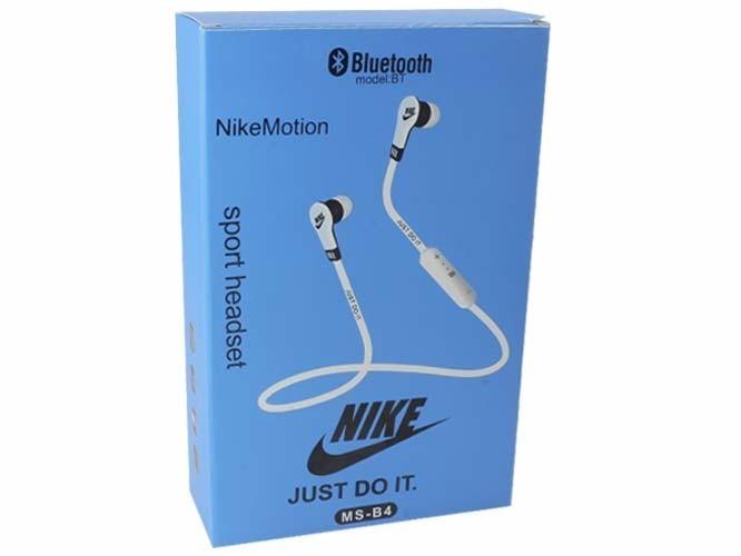 audifonos manos libres nike ms-b4, bluetooth, llamadas