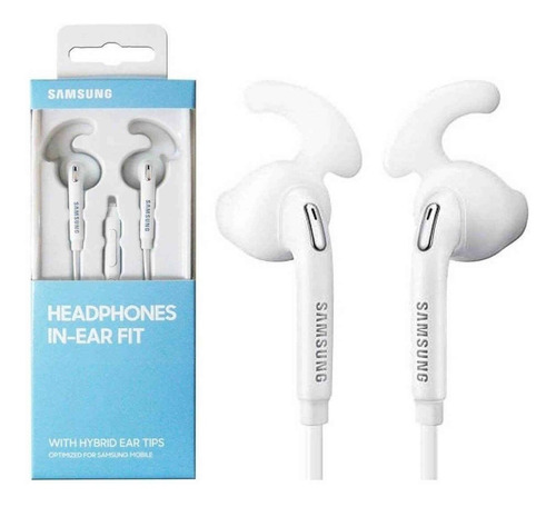 audífonos manos libres samsung ear fit eg920b s5 s6 s7 s8