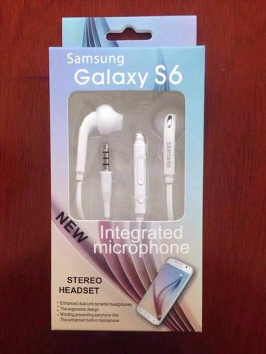 audifonos manos libres samsung galaxy s7 edge