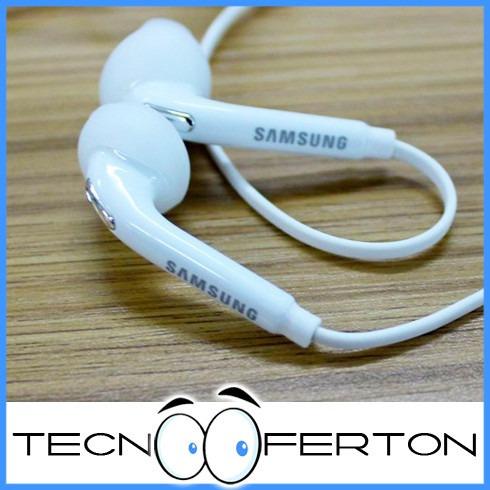 audifonos manos libres samsung / microfono / control volumen