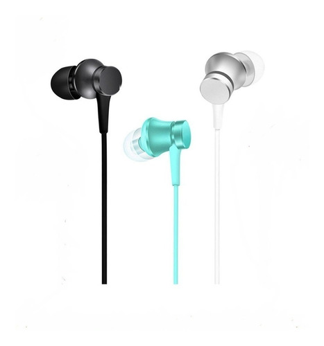 audífonos manos libres xiaomi mi in-ear headphones basic