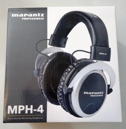 audífonos marantz professional mph-4 dj estudio entrega ya