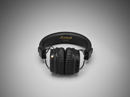audifonos marshall major con bluetooth, negros