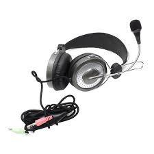 audifonos + micrófono genius hs-04su diadema metálica