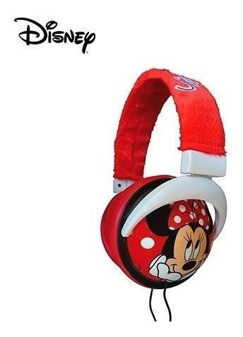 audífonos minnie mouse sakar disney, para mp3 ipod pc etc