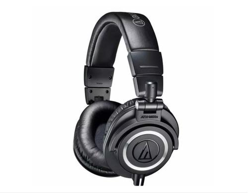 audifonos monitoreo ath-m50x bk  audiotechnica