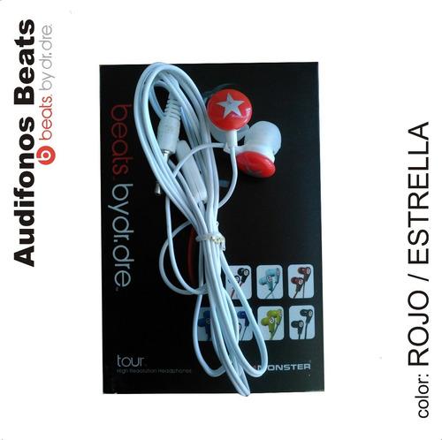 audifonos monster beats by dr. dre tour (varios colores)