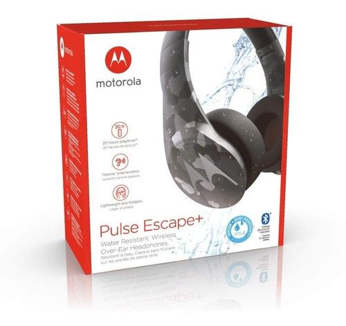 audifonos motorola bluetooth pulse escape plus camuflado