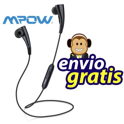 audifonos mpow manos libres bluetooth magneticos premium