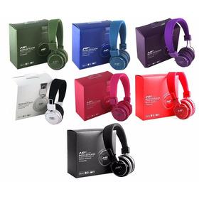 Audífonos Nia Micro Sd Player Varios Colores