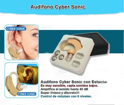 audifonos ortopedicos sordera universal sordos + estuche