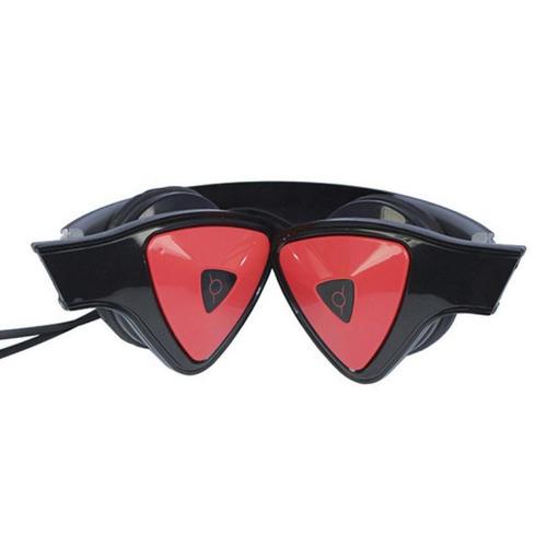 audífonos ox toys jams 13002-negro con rojo