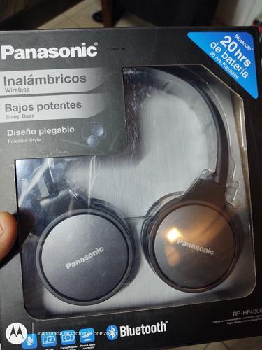 audífonos panasonic rp-hf400b  nuevos