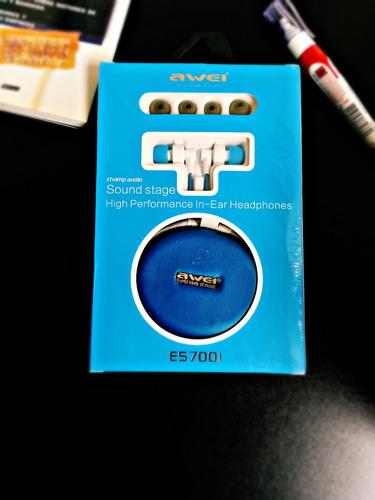 audifonos para celular mp3 mp4 awei es700i originales