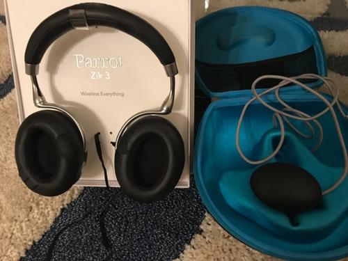 audifonos parrot zik 3.0 audiofilo con cargador