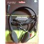 Audifonos Con Microfono Matrix Acolchados Pc-610 Pcs-lap