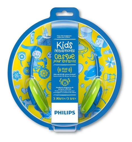 audífonos philips shk-1030 para niños +3 / lhua store