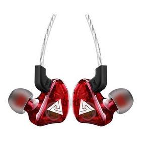 Audífonos Qkz Ck5 Rojo