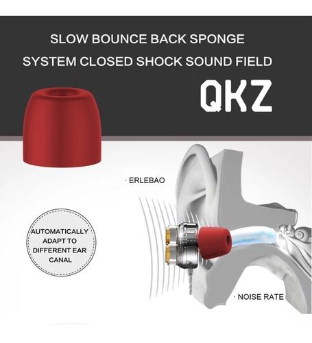 audífonos qkz kd7 originales auriculares profesionales dj