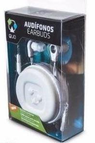 audifonos quo in ear - ear buds - microfono incluye estuche