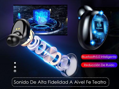 audifonos s2k tws f9-2 in-ear negro