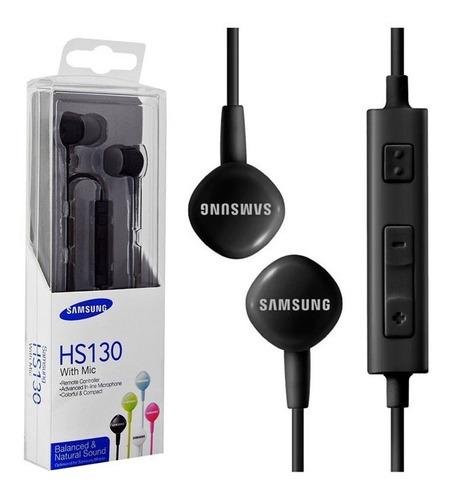 audífonos samsung manos libres stereo hs130 - mobilehut