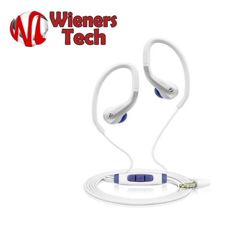 audífonos sennheiser sports earclip blancos.