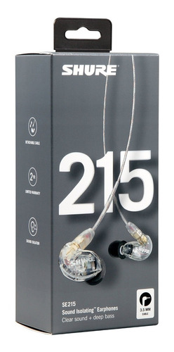 audifonos shure se215 - se112 monitor personal
